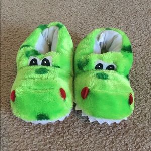 Other - Baby size 9/10 Dino slippers NWOT